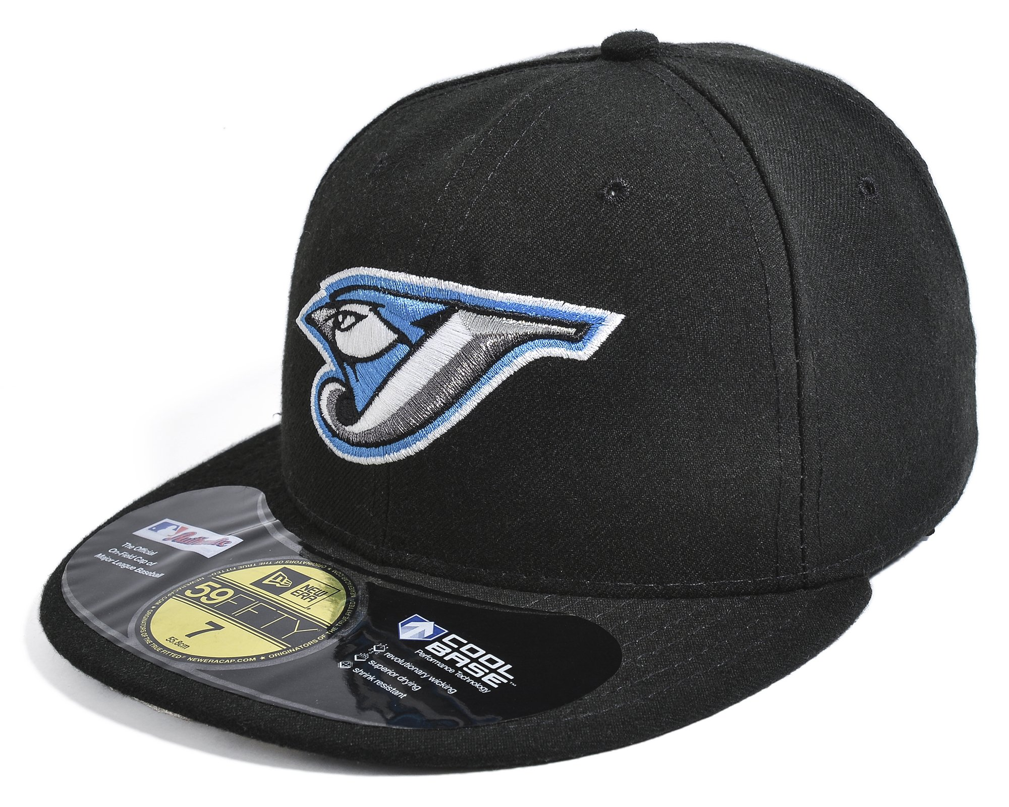 MLB Toronto Blue Jays Authentic On Field Game 59FIFTY Cap, Black, 7 7/8
