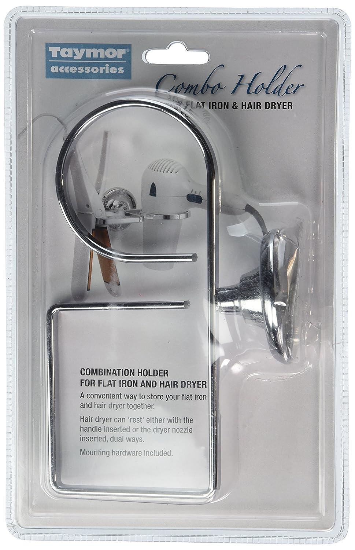 Smedbo OK323 Holder for Hairdryer and Flat Iron Polished Chrome
