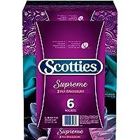 Scotties Supreme Facial Tissue, 3-ply, 88 sheets per box