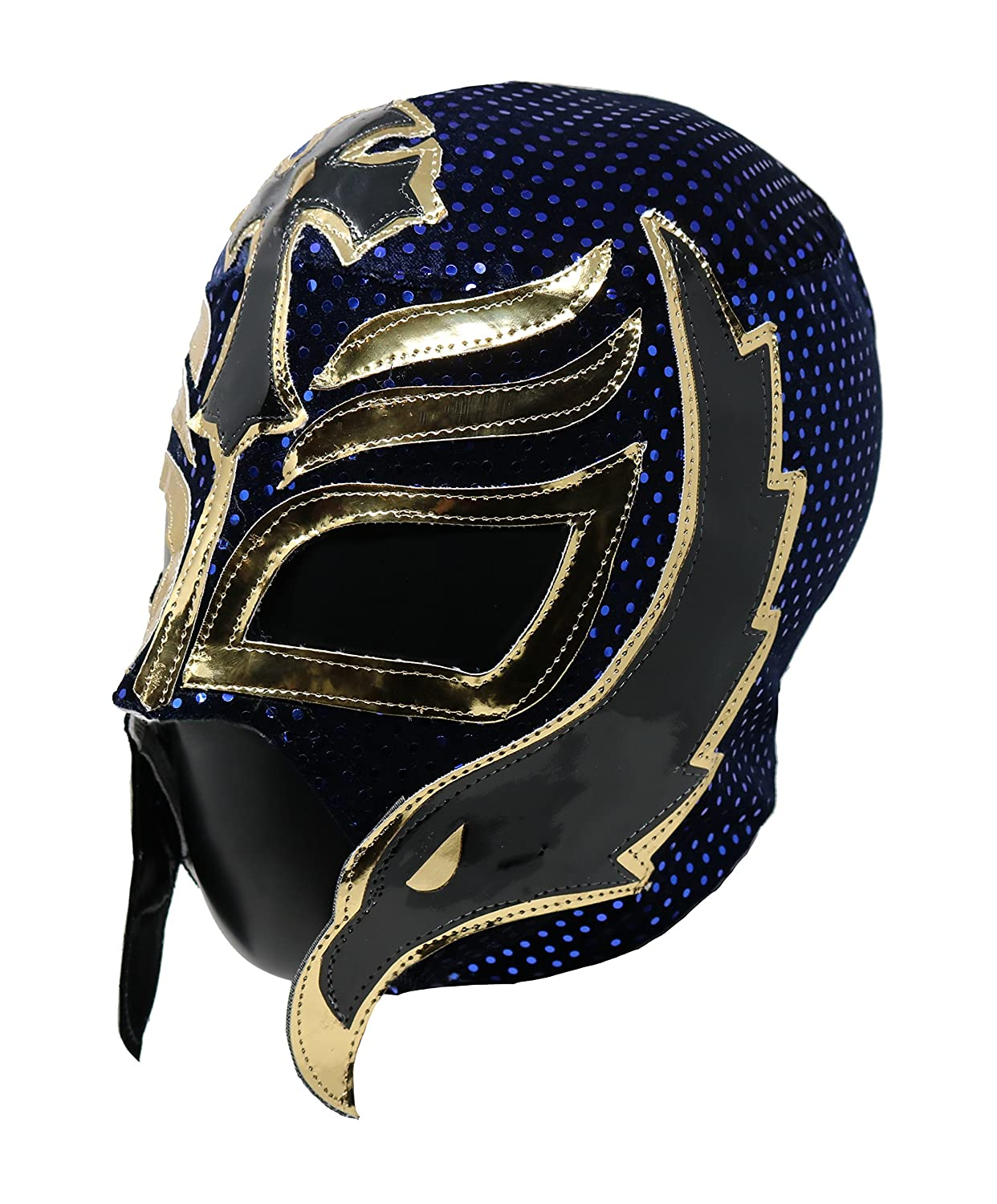 Amazon.com: Rey Mysterio Professional Lucha Libre Wrestling Mask. Mascara Profesional de Lucha Libre (Black/Orange): Clothing