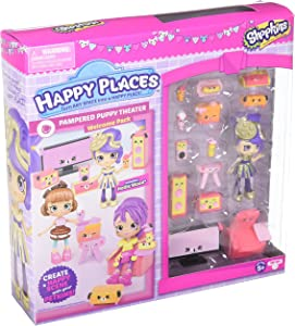 Happy Places Shopkins S3 Welcome Pack - Pampered Puppy Theatre