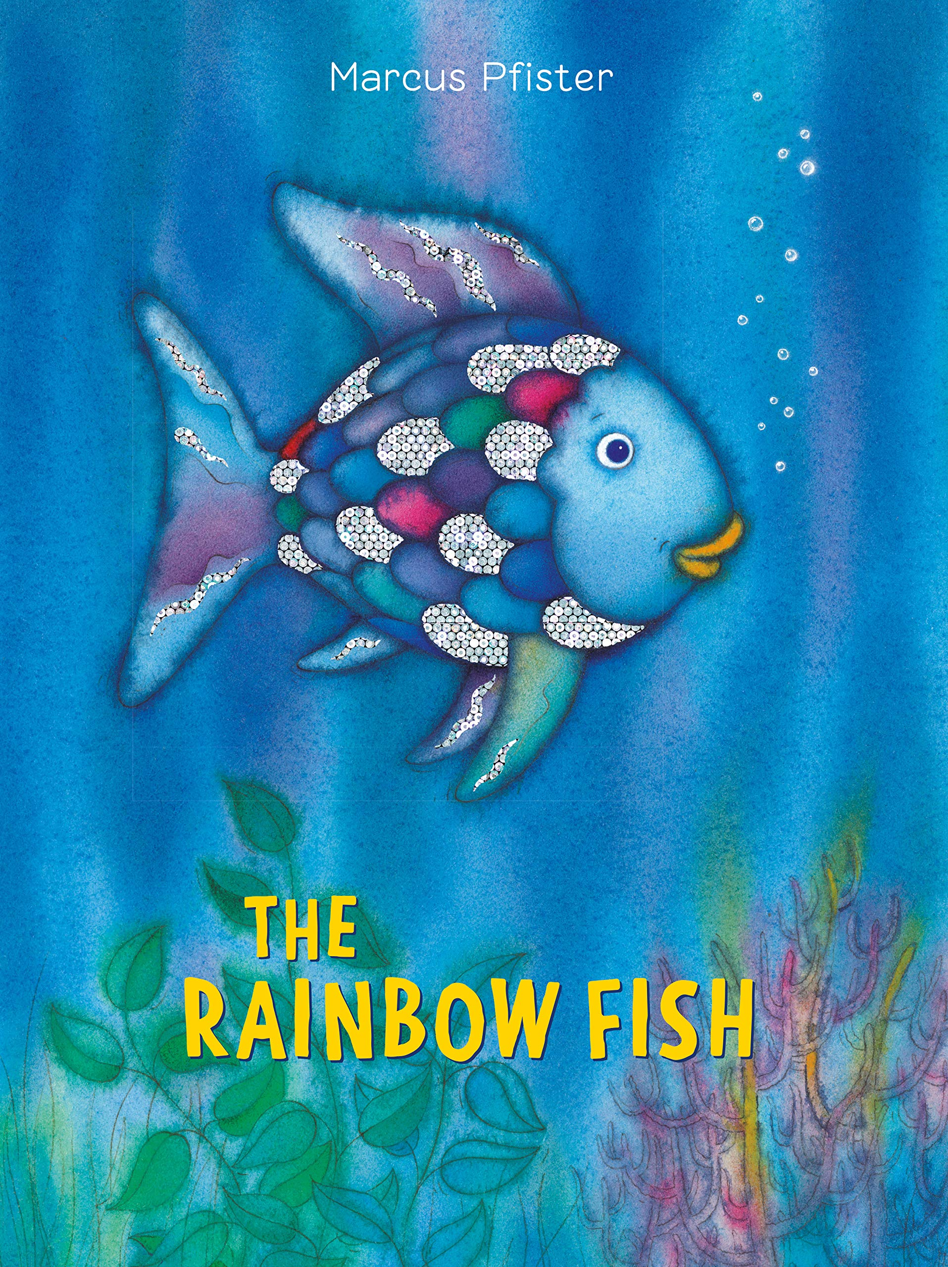Knitted Cotton Rainbow Fish