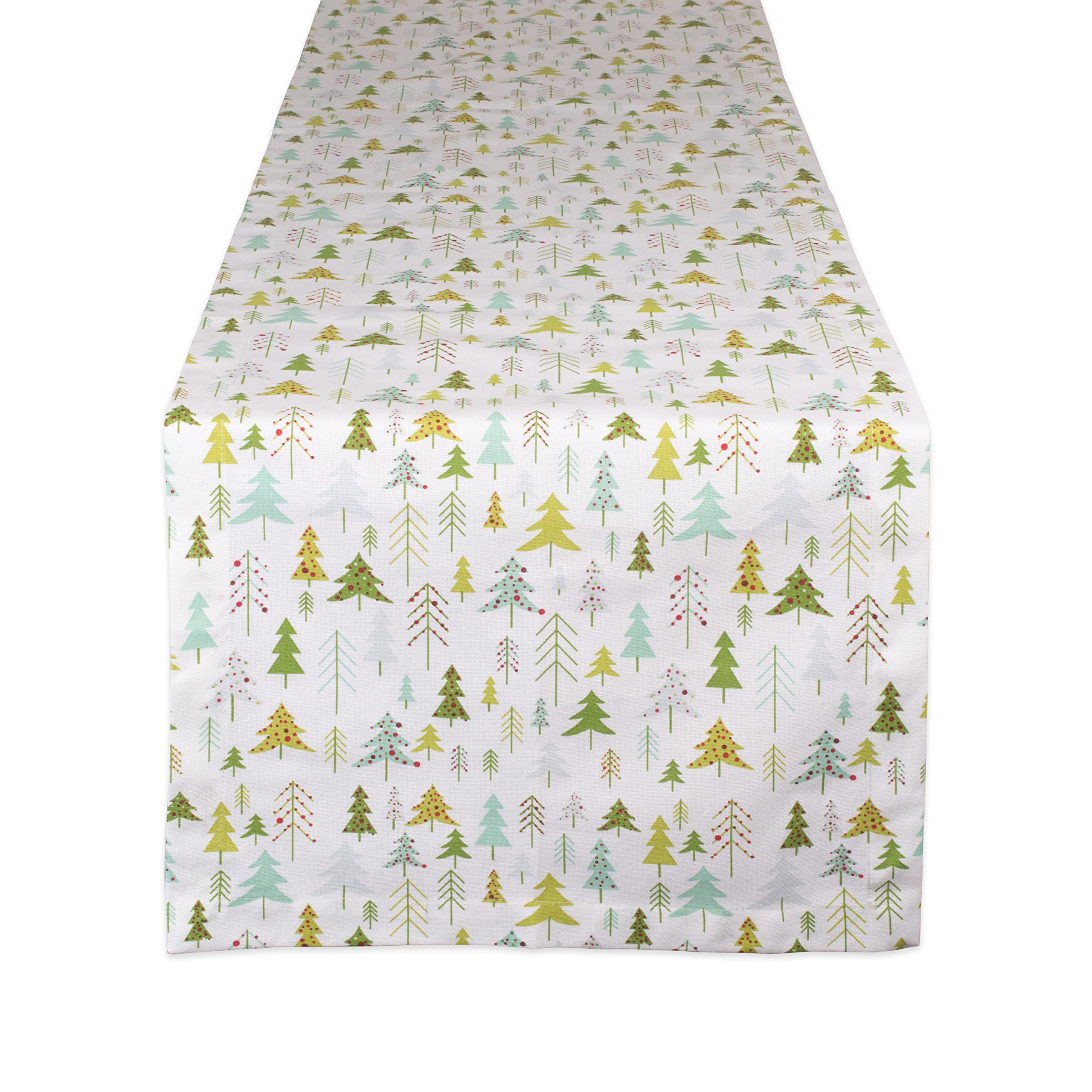 DII CAMZ10878 Table Runner, 14''x108'', Holiday Woods