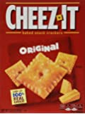 Cheez-It Baked Snack Crackers Cheez it 12.4oz (351g) Cheez It …