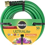 "Miracle Gro UltraLite 50 ft Garden Hose, 1/2"" diameter"