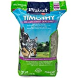 Vitakraft Timothy Hay - Premium Sweet Grass Hay - 100% American Grown, 28 Ounce Resealable Bag