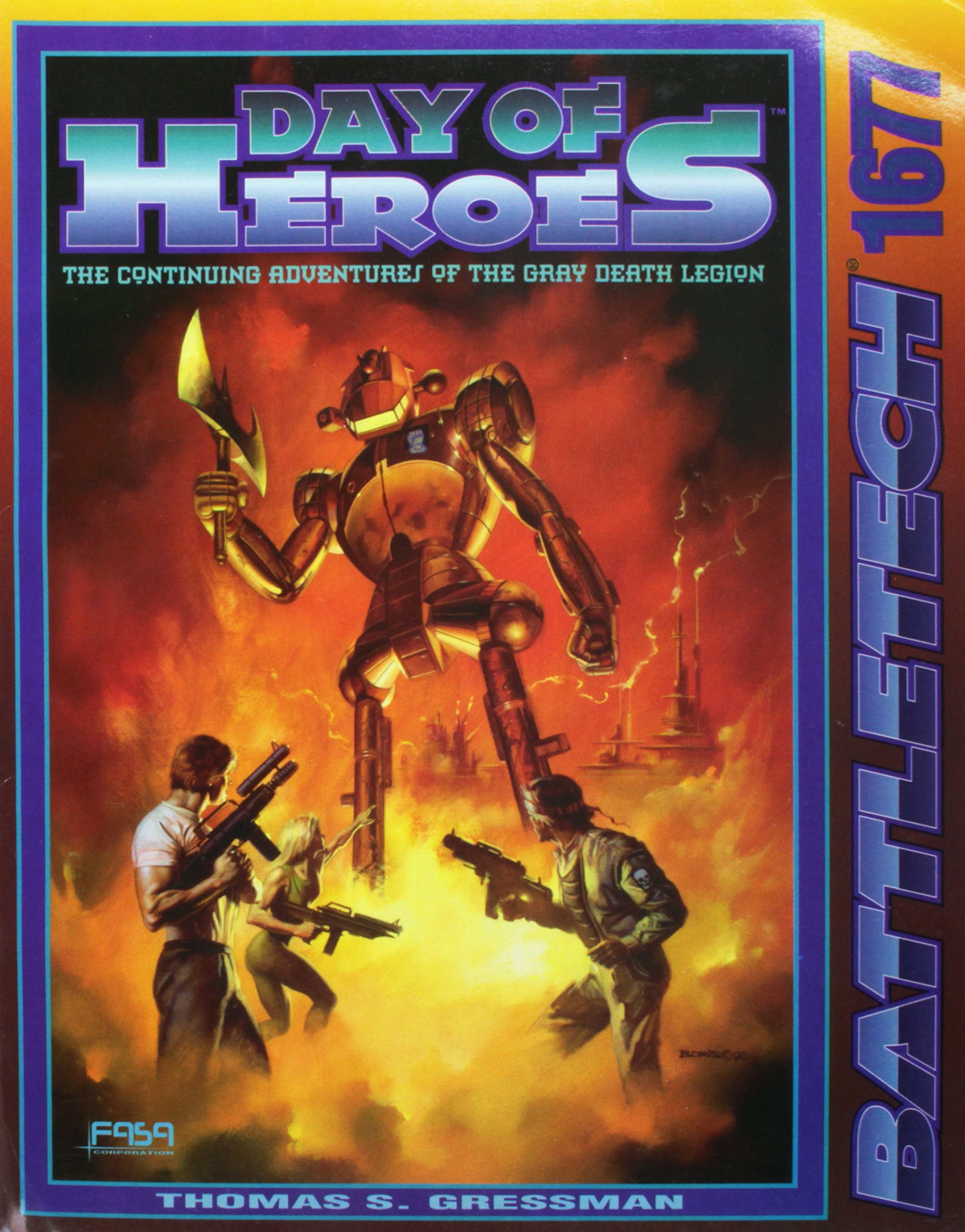 Classic Battletech: Day of Heroes (FAS1677) PDF