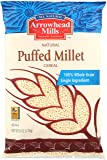 Arrowhead Mills Cereal, Puffed Millet, 6 oz. (Pack of 12)