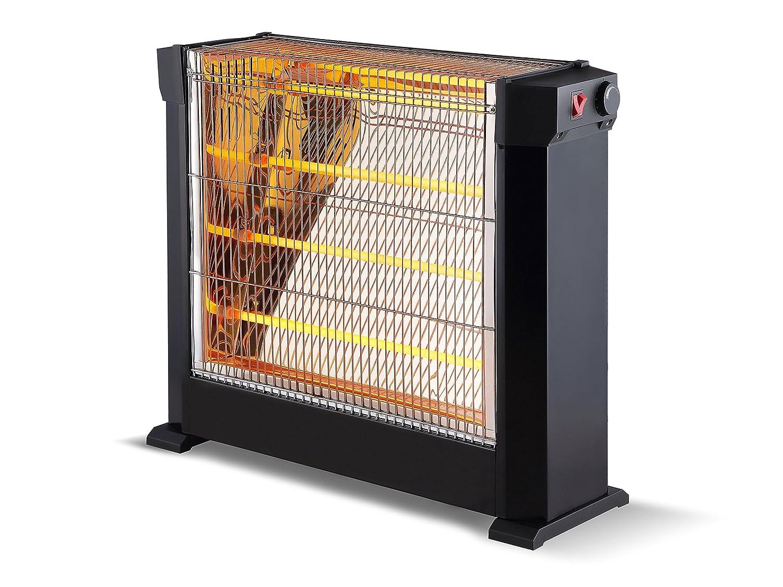 Chauffage dappoint /à tube infrarouge quartz 2200 watts pratique et tr/ès puissant HEATY 2760 Purline