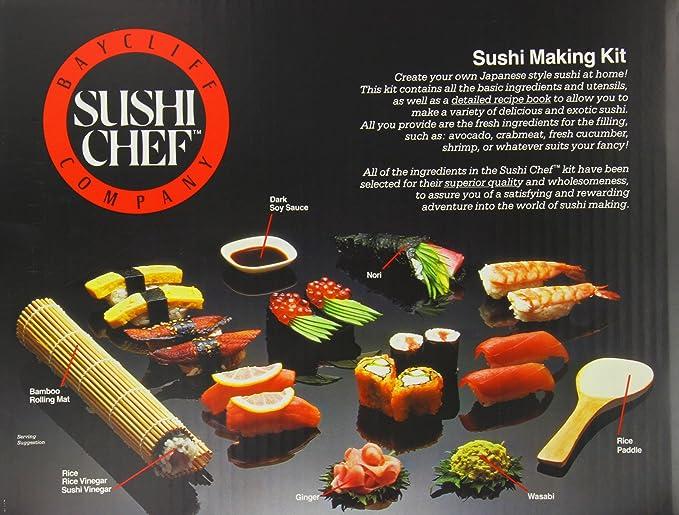 d6356cc377f0 Sushi Chef Sushi Making Kit