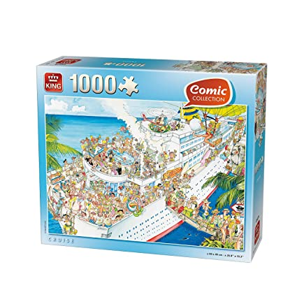 Amazon.com: 1000 Piece King Comic Collection Cruise Puzzle ...