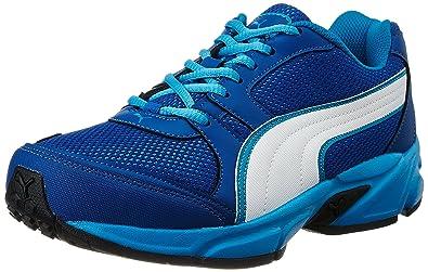 b2918730c80 Puma Men s Strike Fashion II Dp True Blue and Blue Danube Running Shoes -  11 UK