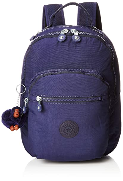 69ae88cad6b Kipling CLAS SEOUL S School Backpack, 34 cm, 10 liters, Blue (Active Blue):  Amazon.co.uk: Luggage