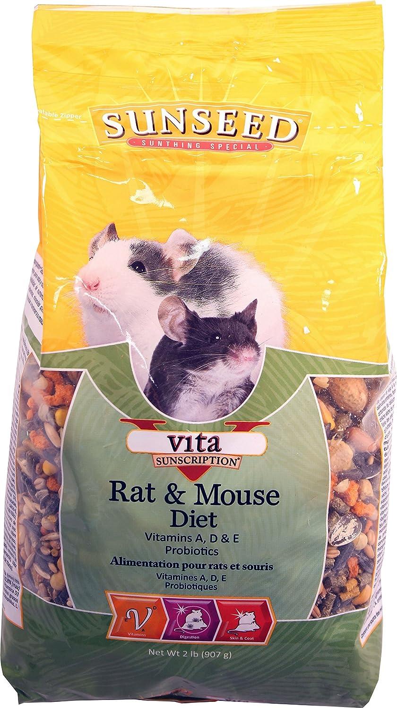 Sunseed Company 94012 Vita Rat/Mouse/Gerbil 2 Pound