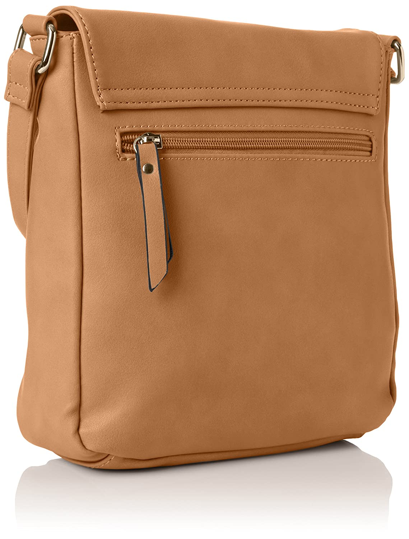 f1f6d13c2b HENLEY Womens Perrie Cross-Body Bag Camel  Amazon.co.uk  Shoes   Bags