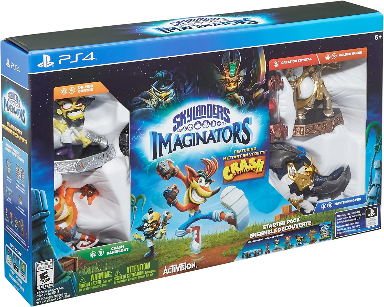 Amazon com: Skylanders Imaginators - Crash Bandicoot Edition