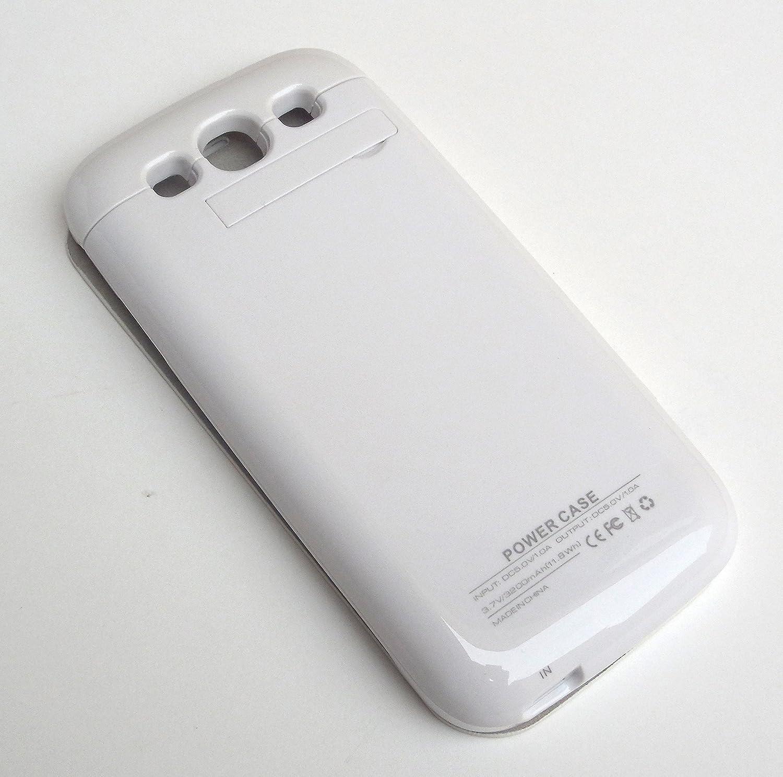 Amazon.com: 3200mAh Protector con Batería Incluida Cargador ...