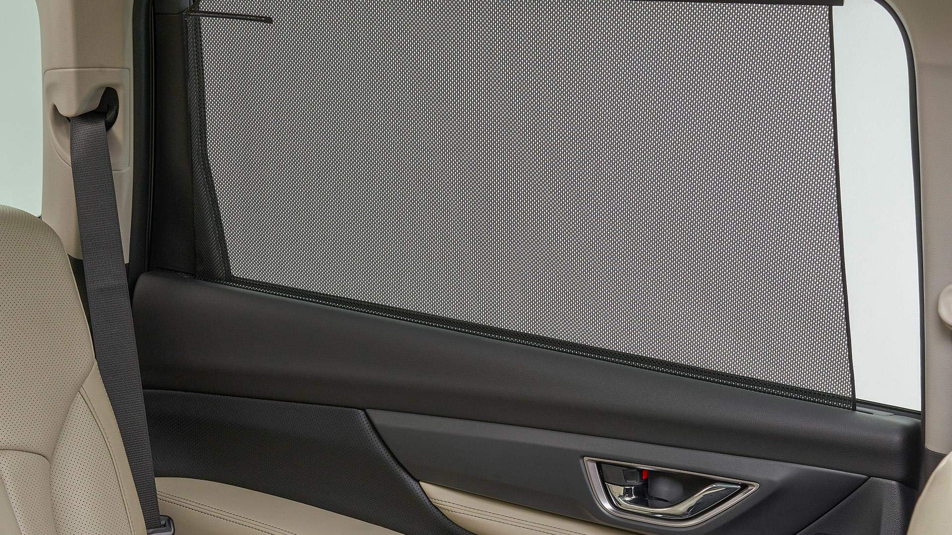 SUBARU 2019 Ascent 2nd Row Window Sunshade Set of Two New F501SXC000 Genuine by SUBARU (Image #1)