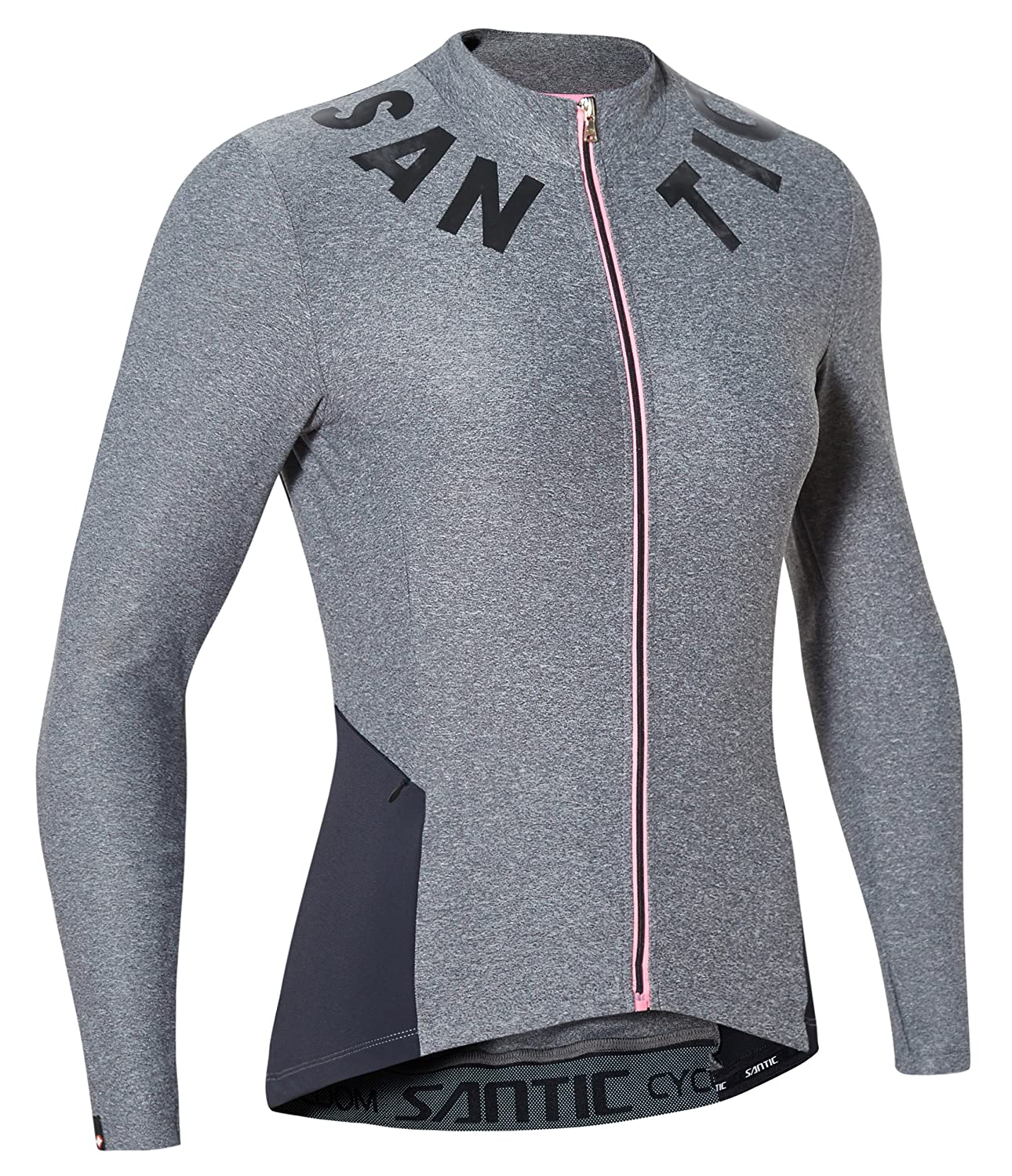 225cc748a Amazon.com   Santic Cycling Jersey Women s Long Sleeve Bicycle Tops  Mountain Bike Shirts with Pockets   Sports   Outdoors