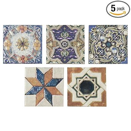 Somertile Fpm3art Leon Ceramic Floor And Wall Trim Tile 275 X
