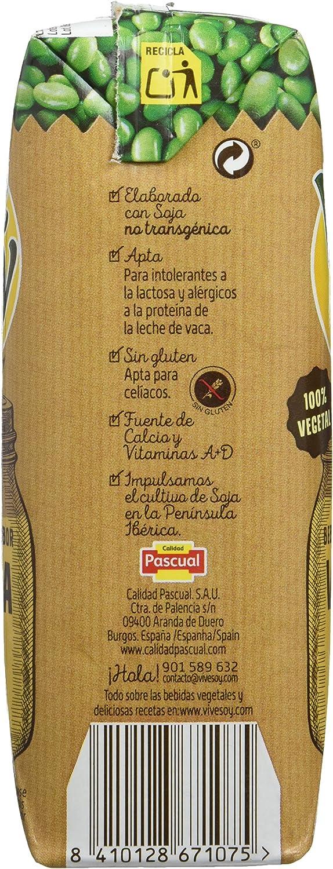 Vivesoy Soja sabor Vainilla - 7 Paquetes de 3 x 250 ml ...