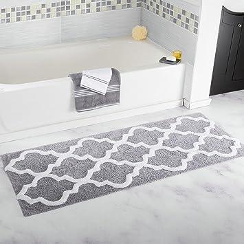 Homcomoda Rutschfeste Badematte Mikrofaser Badteppiche Absorbent  Badvorleger Für Badezimmer Öko Tex 100 Zertifiziert Duschvorleger  Küchenbodenmatten