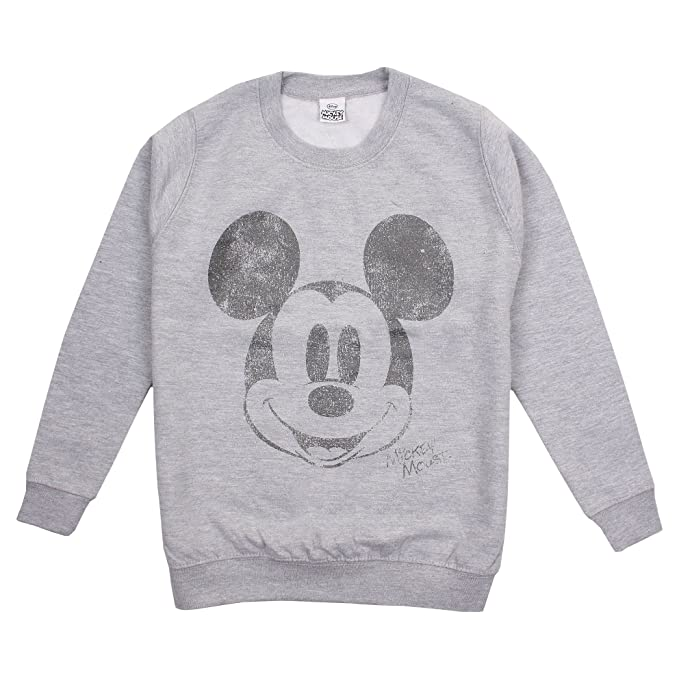 Disney Girls Mickey Face Hoodie
