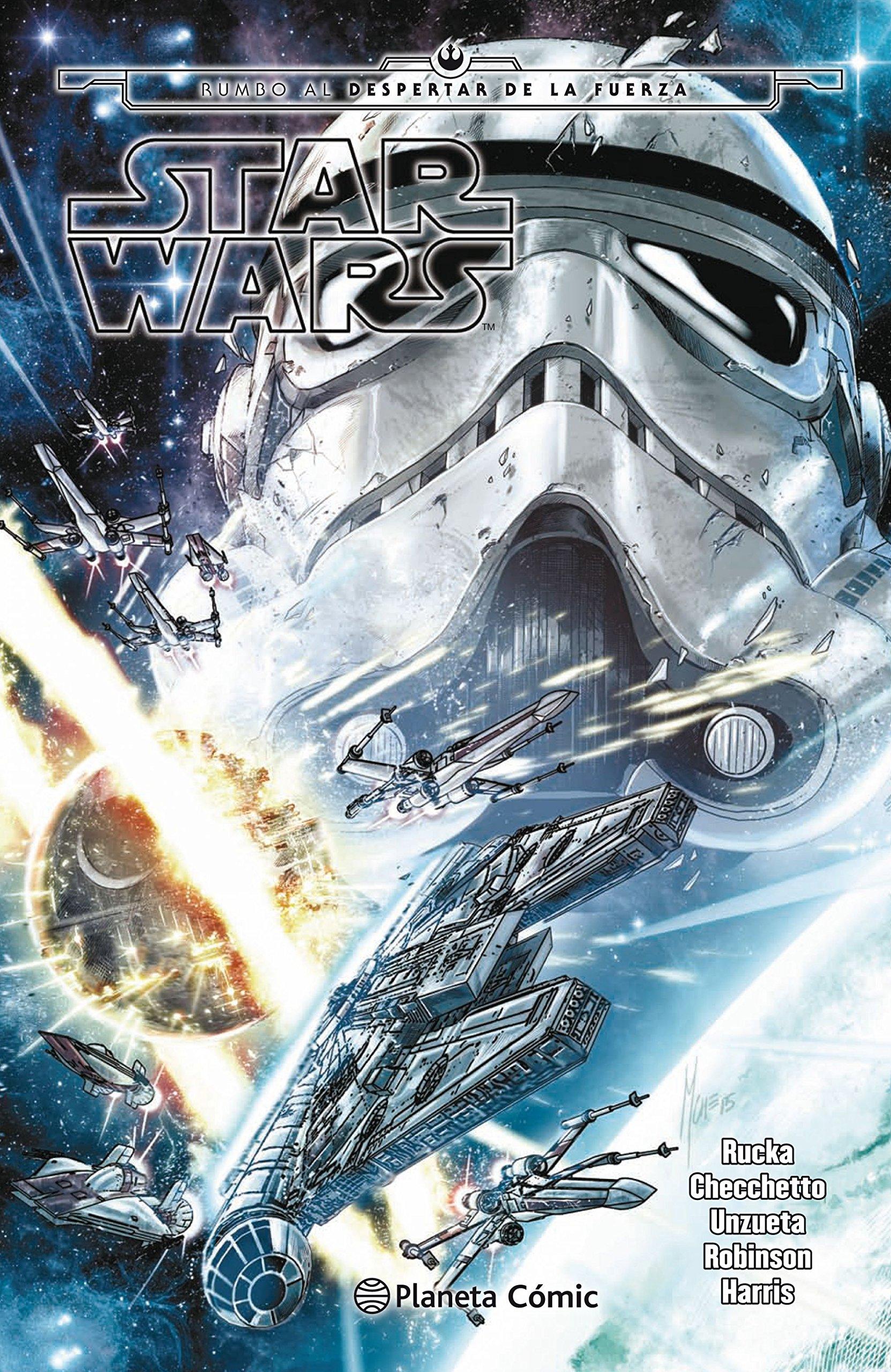 Star Wars Rumbo al despertar de la fuerza (tomo recopilatorio) (Star Wars: Recopilatorios Marvel) Tapa dura – 27 abr 2017 AA. VV. Planeta DeAgostini Cómics 8416693293 Graphic novels