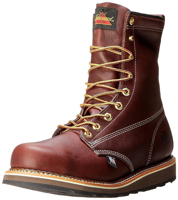 Walnut Thgoldgood Men's American Heritage 8 Inch Safety Toe Boot