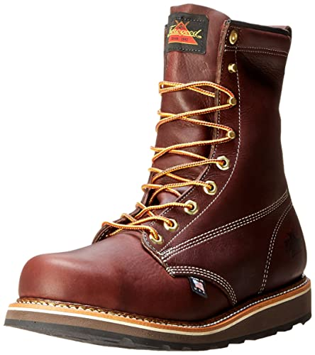 d5b4db0b88e Thorogood Men's American Heritage 8 Inch Safety Toe Boot: Amazon.co ...