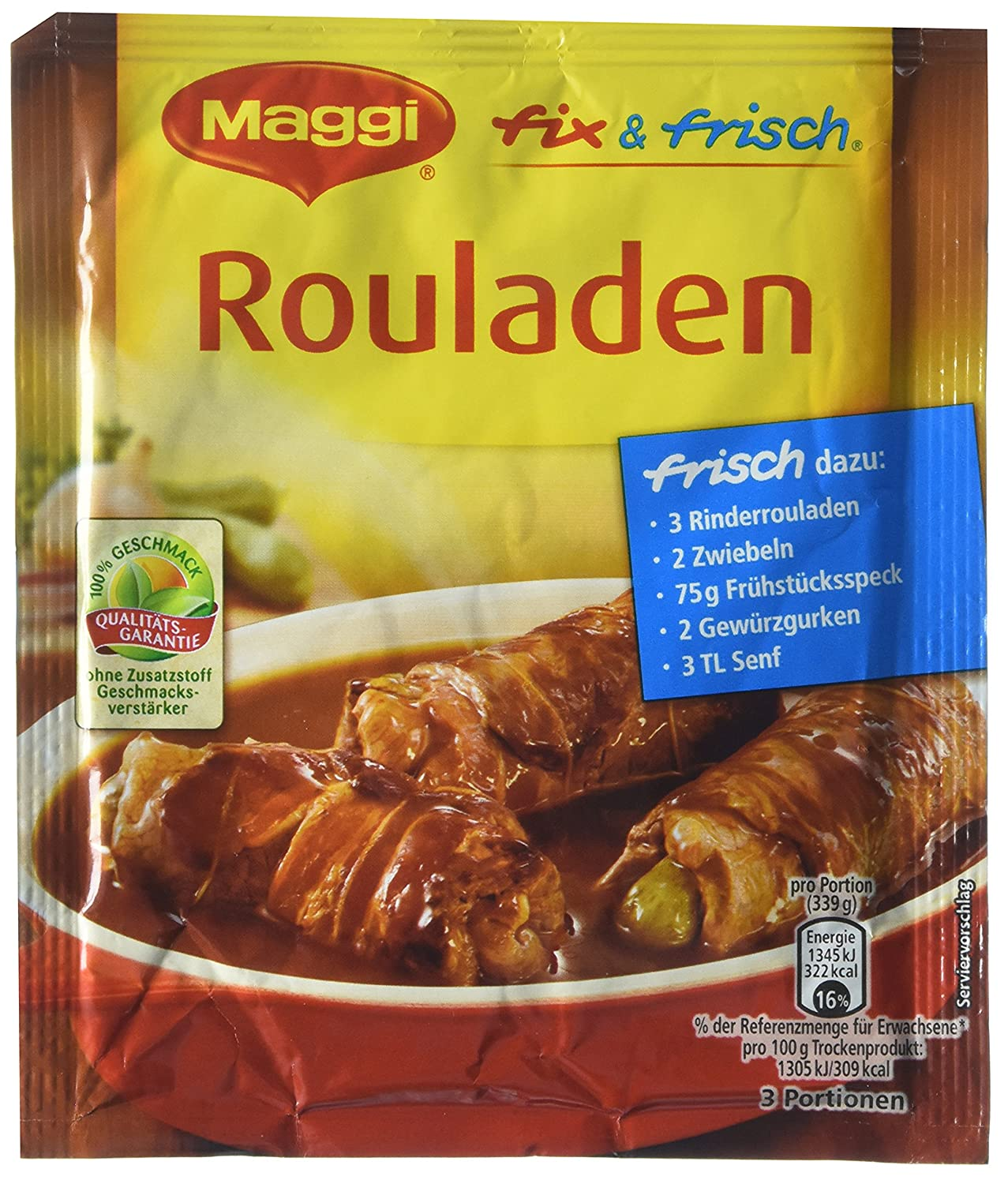 MAGGI fix & fresh rouladen (Rouladen) (Pack of 4)