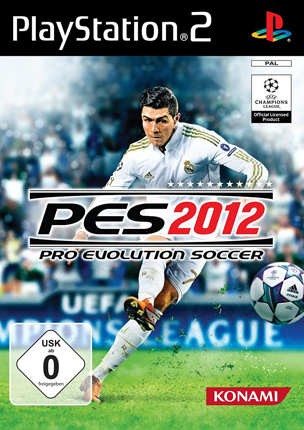 Konami Pro Evolution Soccer 2012, DEU, PlayStation 2 - Juego (DEU ...