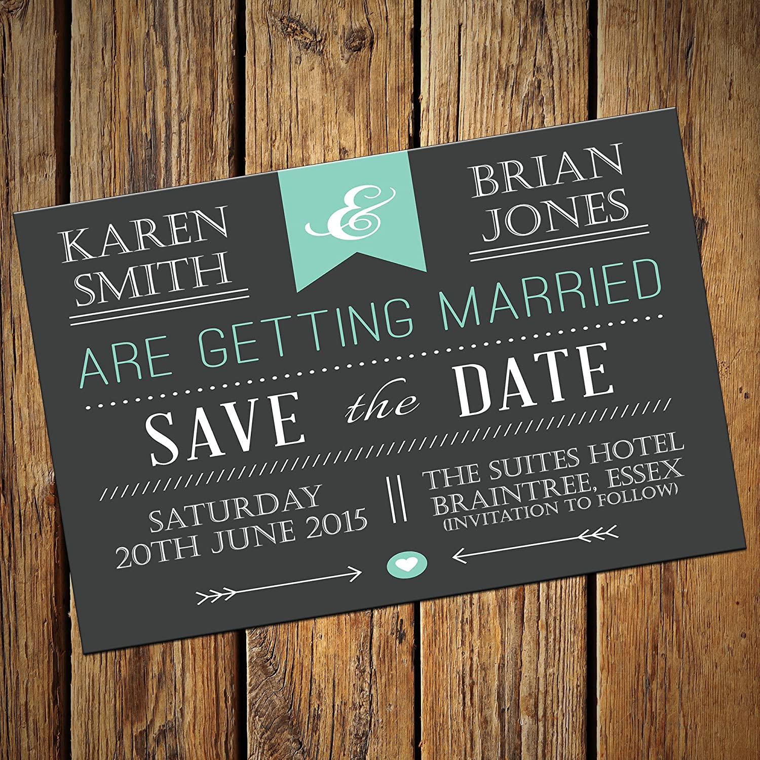 wedding save the date post cards