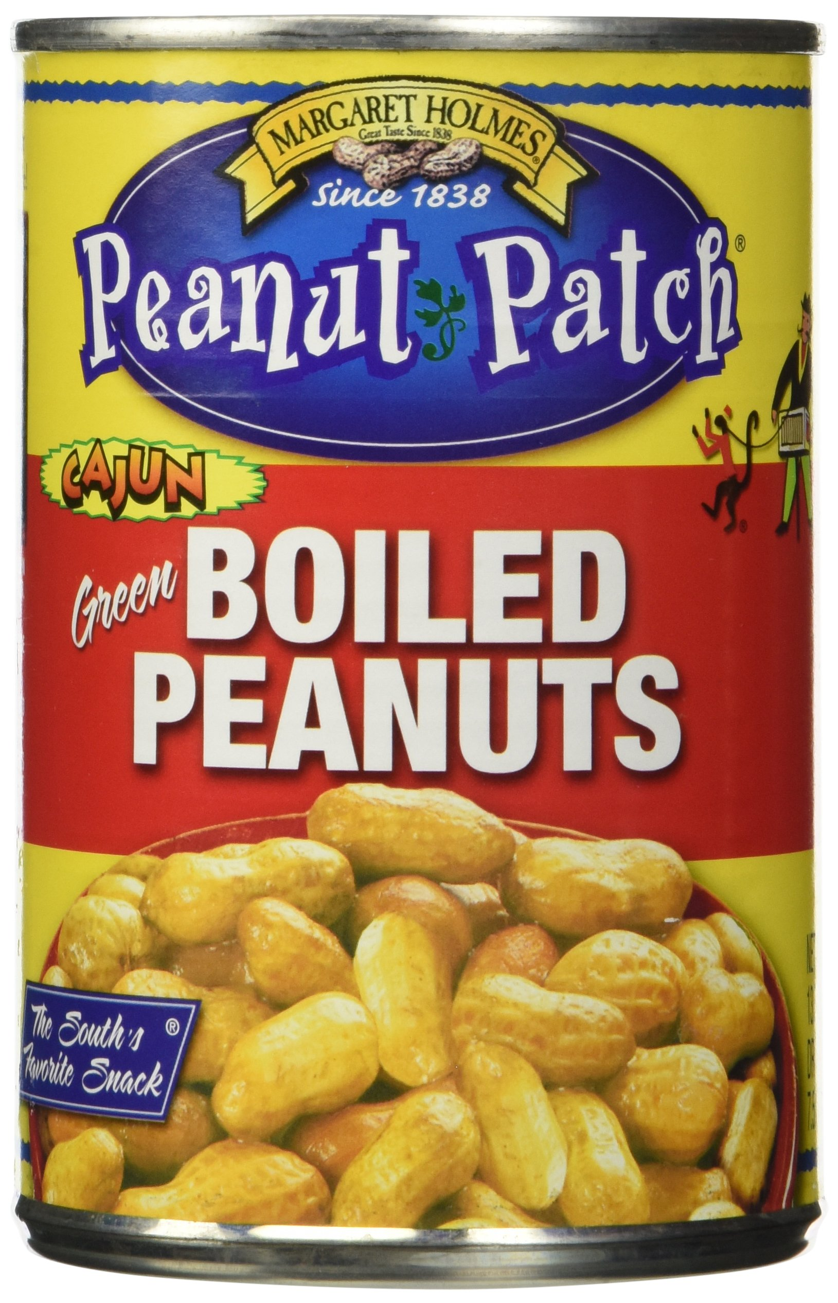 Peanut Patch Peanuts Cajun Boiled, 3-Pack