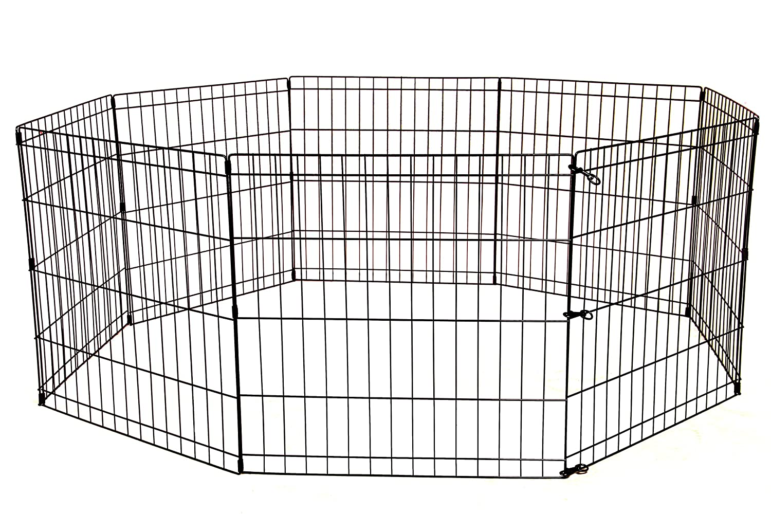 Amazon.com : Tall Dog Playpen Crate Fence Pet Kennel Play Pen ...