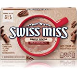 Swiss Miss Simply Cocoa Milk Chocolate Hot Cocoa Mix, 8Count 6.8 Oz