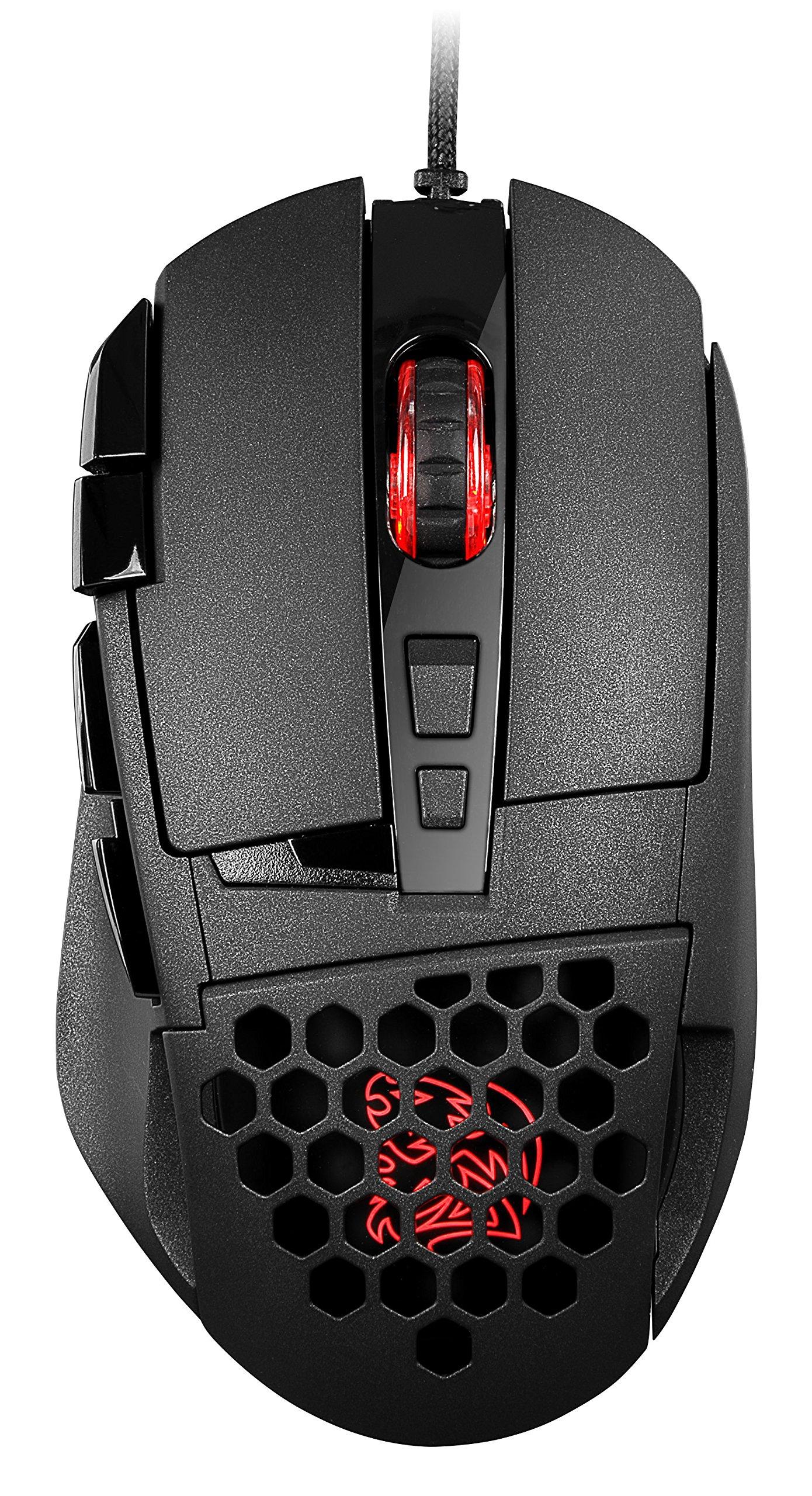 Mouse Gamer :  Thermaltake Tt e Sports Ventus Z 11000 DPI 16