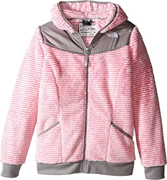 c644ca8ef The North Face Girls' Oso Hoodie,Cha Cha Pink Stripe,US L: Amazon.ca ...
