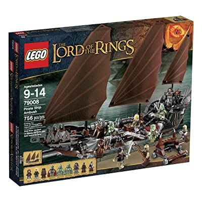 LEGO LOTR 79008 Pirate Ship Ambush (Discontinued by manufacturer): Toys & Games