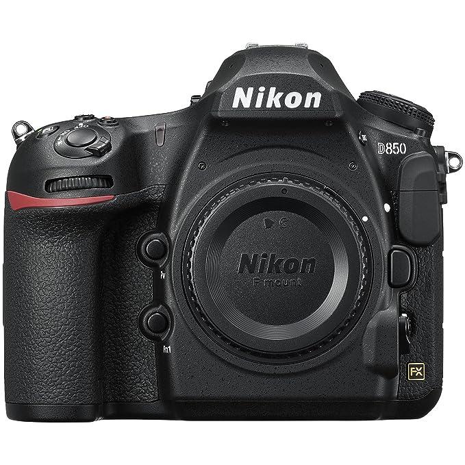 Nikon D850 Corpo della fotocamera SLR 45,7 MP CMOS 8256 x 5504 Pixel Nero