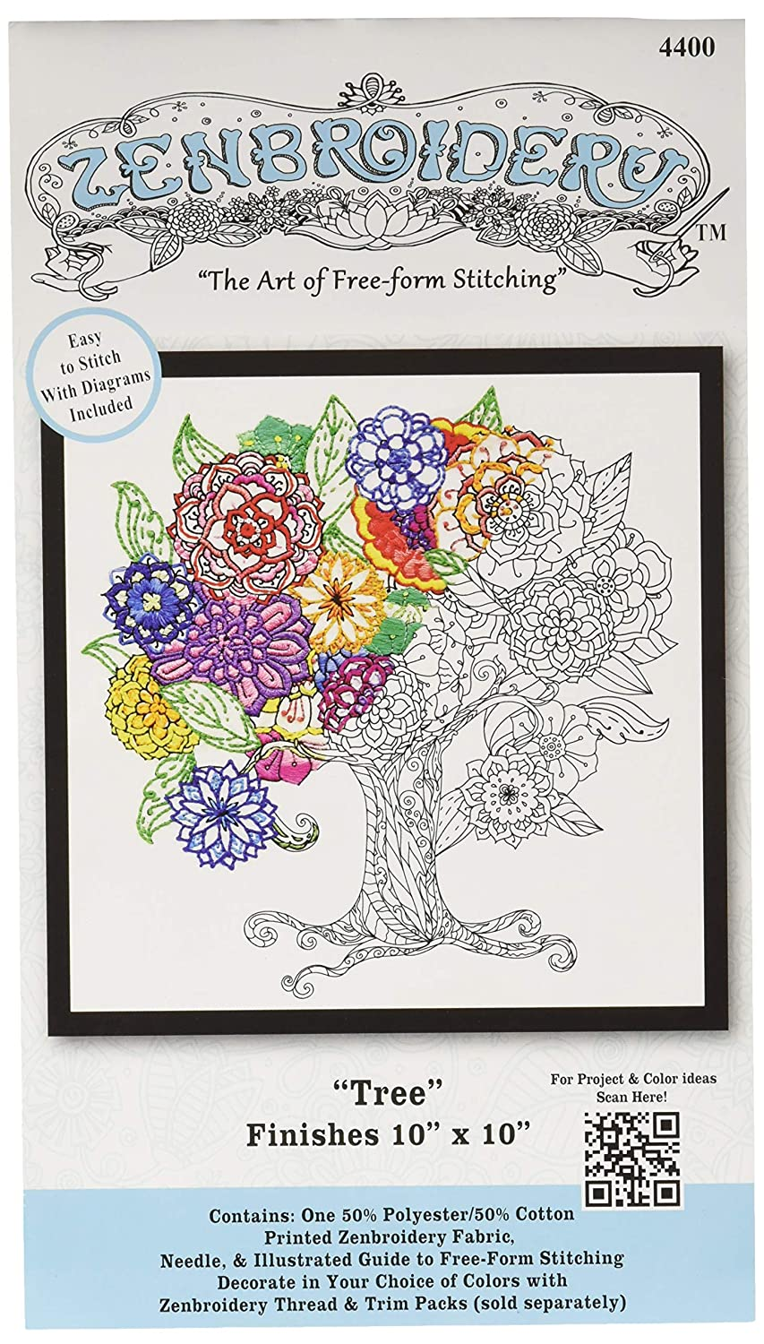 Design Works Crafts 4400 Tree Craft Kit, Multicolor Inc.