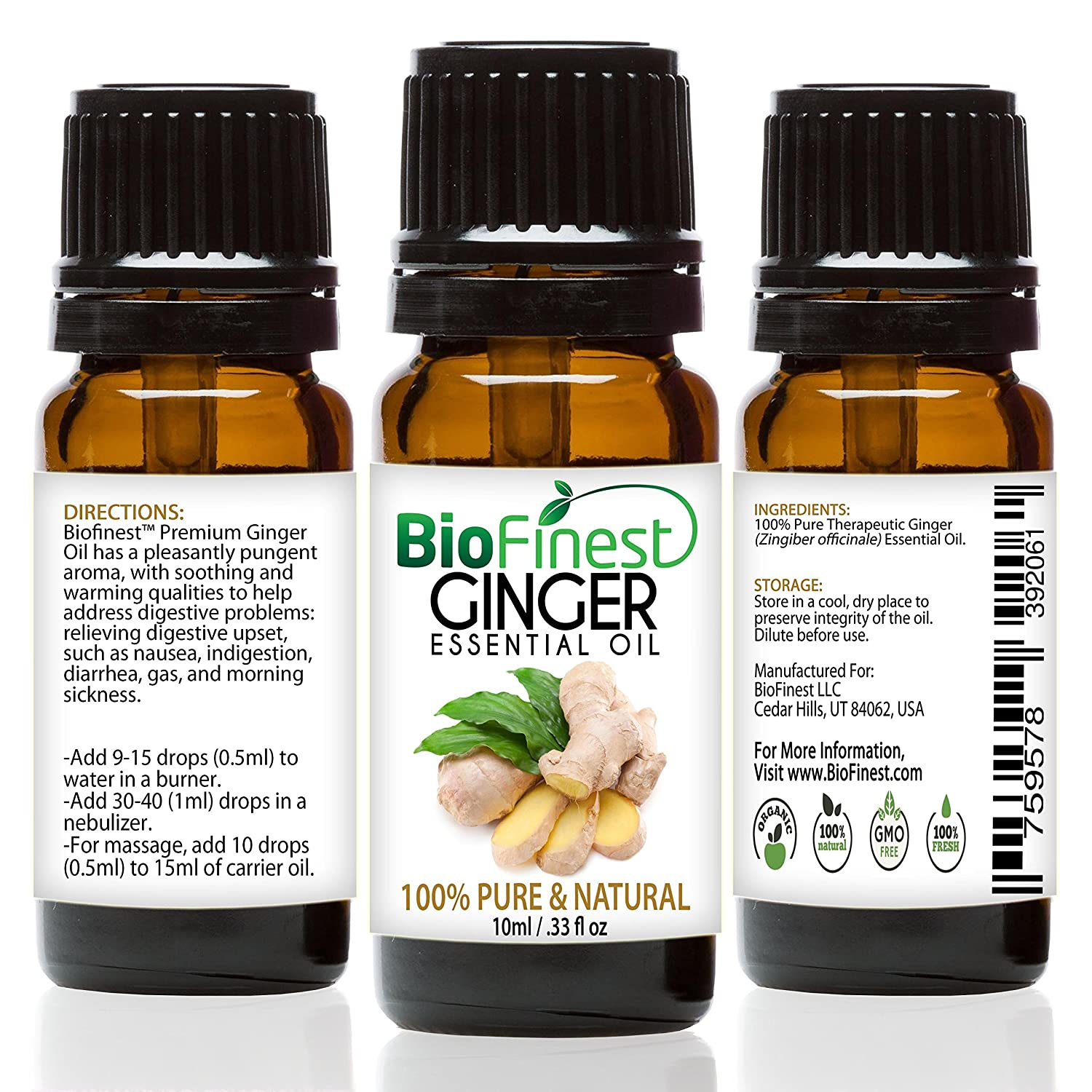What product is ginger in harmony with? 9