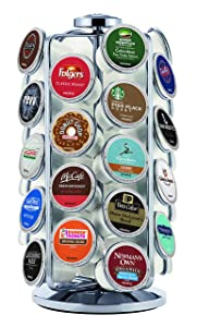 Keurig 5000196801 K-Cup Pod Carousel Coffee Machine Accessory 36 Count Chrome