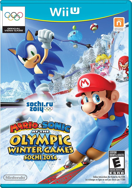 47bd972fa Amazon.com  Mario   Sonic at the Sochi 2014 Olympic Winter Games - Nintendo  Wii U  Video Games