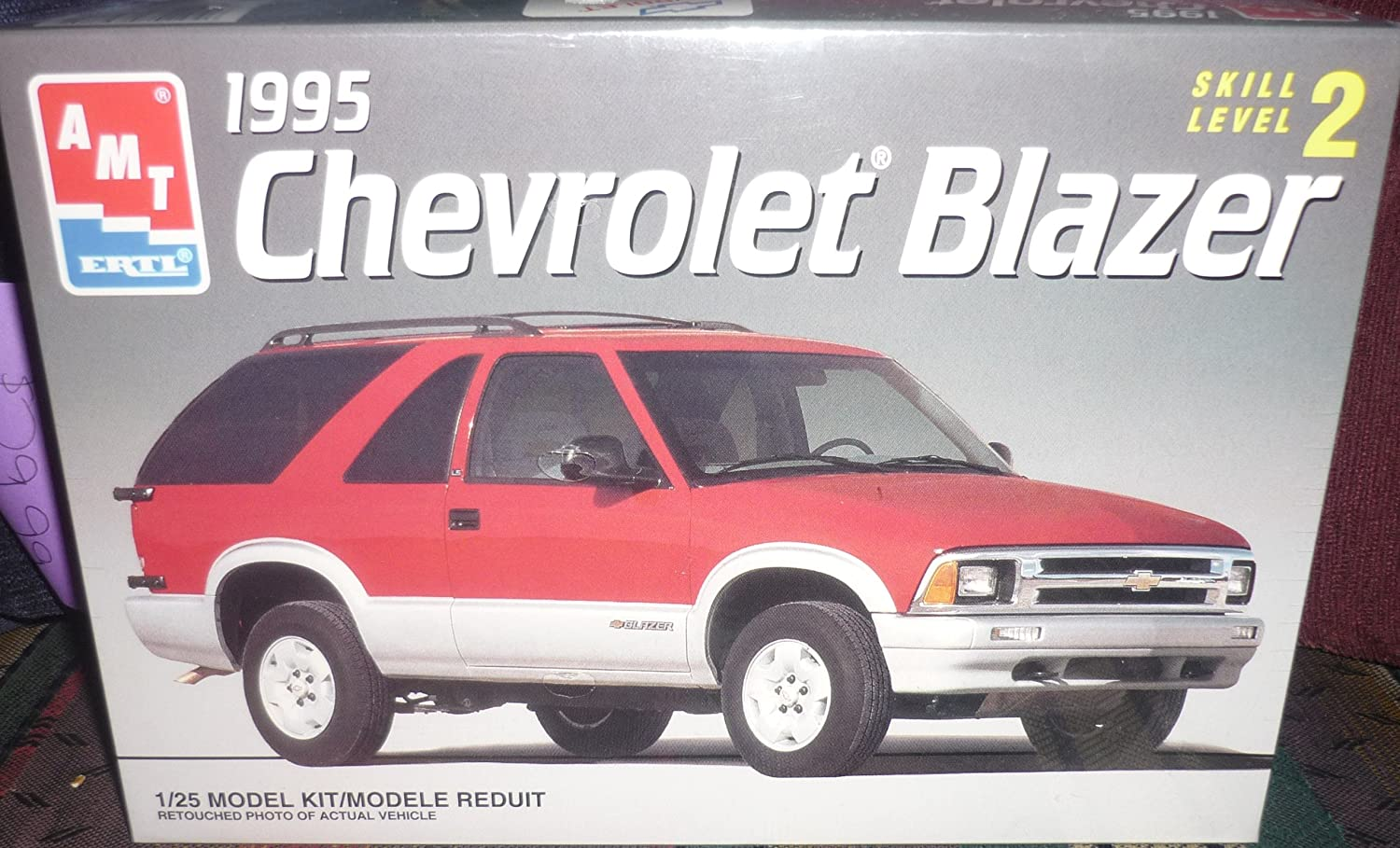 #8978 Amt/Ertl 1995 Chevrolet Blazer 1/25Th Scale Plastic Model Kit,Needs Assembly durch Amt Ertl