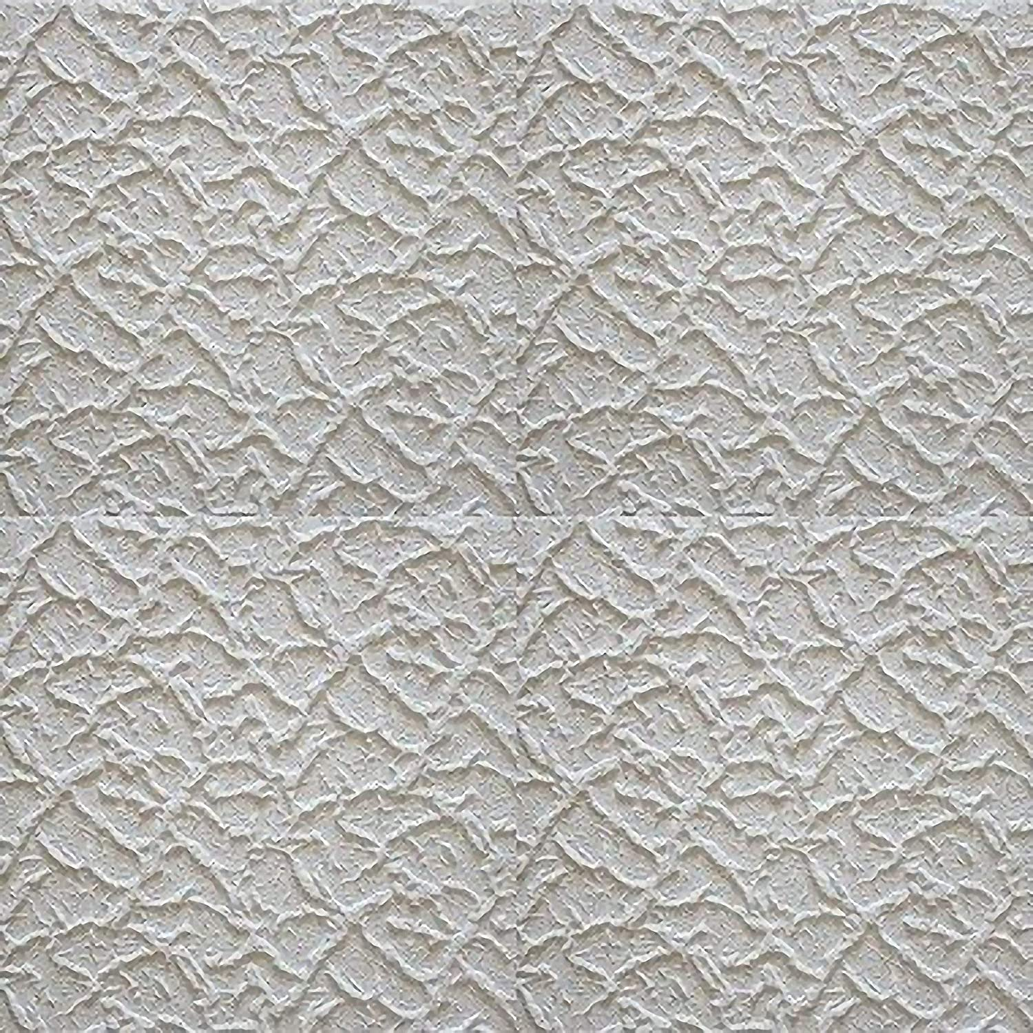 Thickness 28 mm Pack 36 pcs // 8,46 Sqm 485 x 485 mm Overlapping Polystyrene Insulation Decorative Wall /& Ceiling Tiles Panels