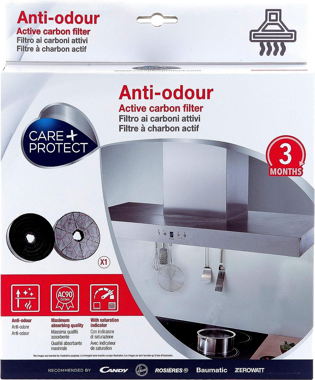 CARE + PROTECT Filtros de Campana de Carbón Activo Antiolor Compatibles: Amazon.es: Grandes electrodomésticos