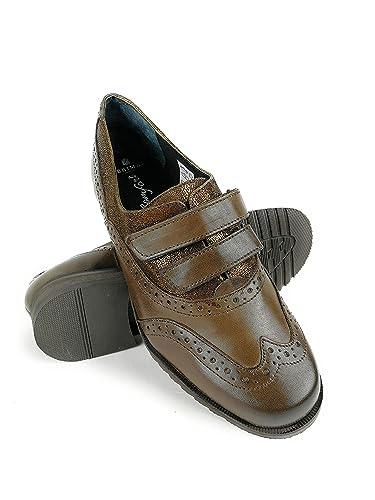Zerimar Damen Leder Schuhe Bequeme Schuhe Frauen Schuh