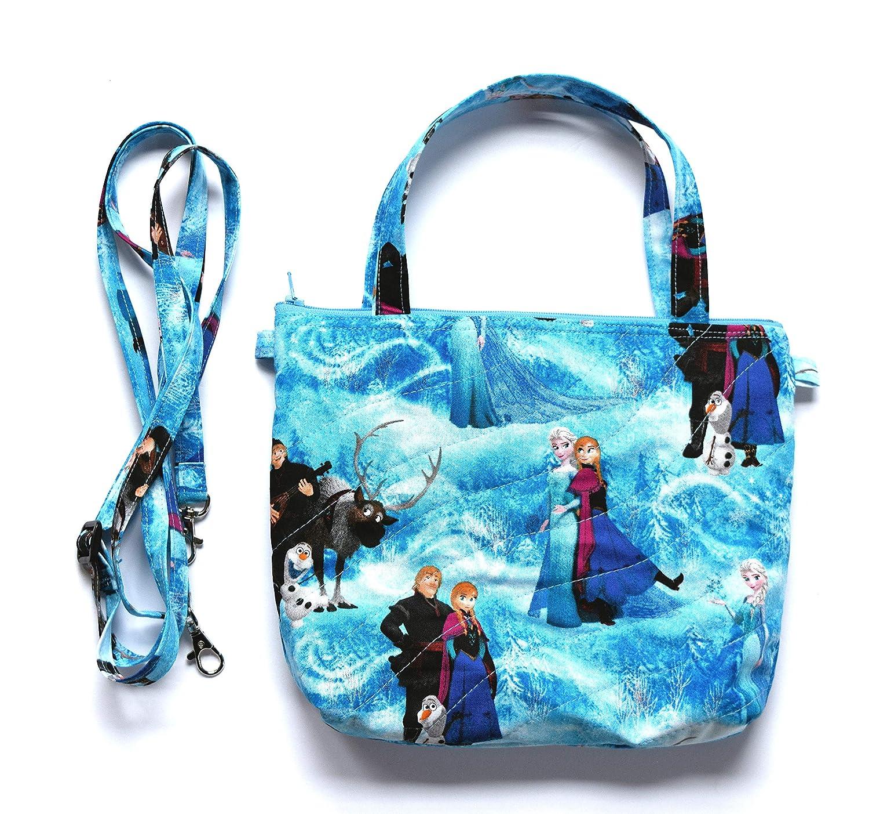 abcc9ba8c49d Amazon.com: Frozen Queen Elsa Small Purse with Adjustable Shoulder ...