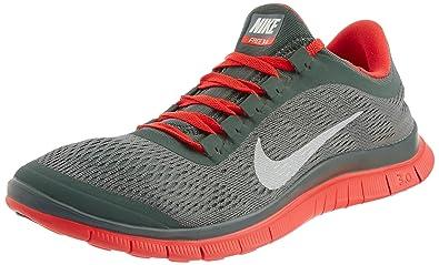 buy online 241f5 d956a Nike Men s s Free 3.0 V5 Running Shoes Grün (Dk Mc Green SMMT Wht-